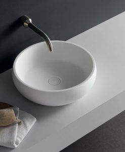 Ecco Stone Solid Surface Basins