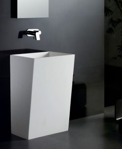 Melody Matte White Basin 2