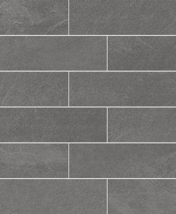 Mosaico Brick Piombo 30x30